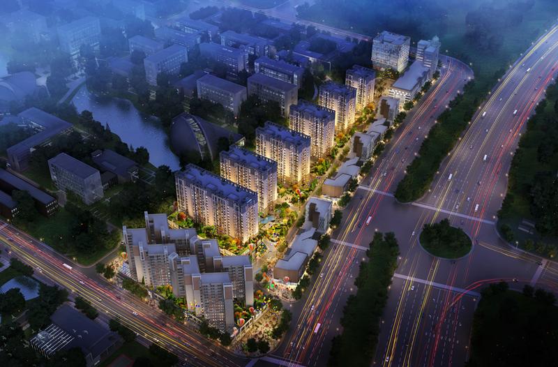 广州市?#33258;?#21306;小塘社区商业改造
